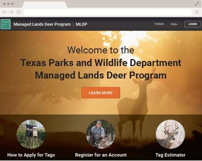 Texas Managed Lands Deer Program App